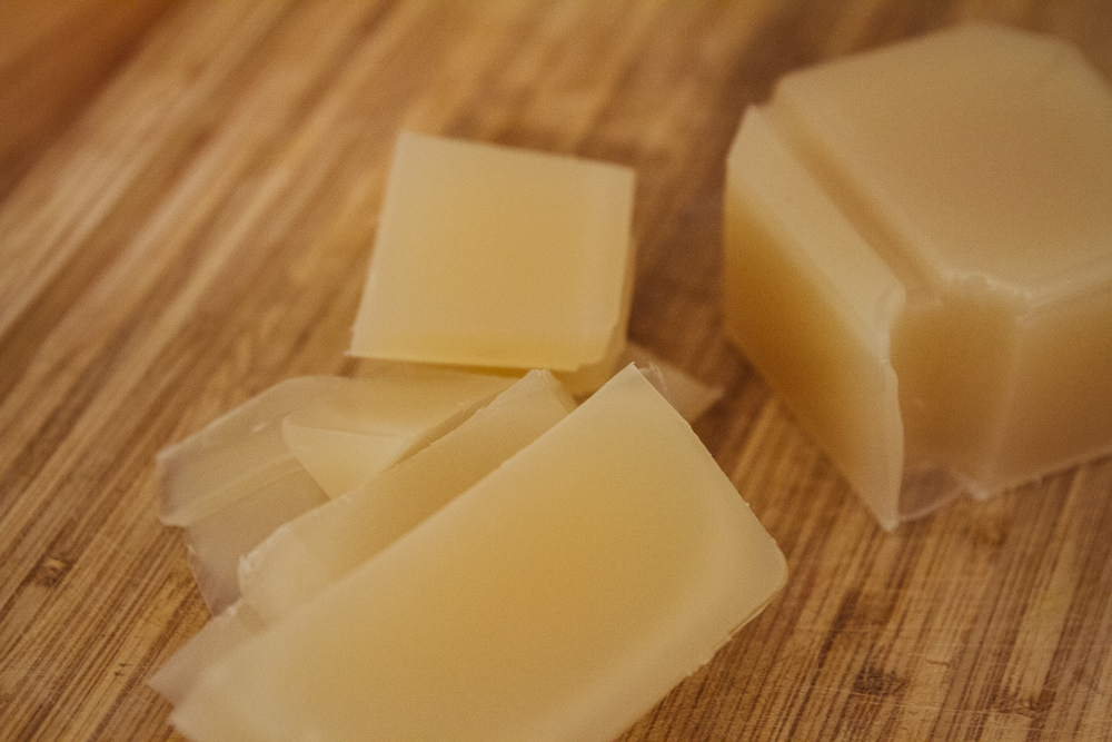 cutting soap