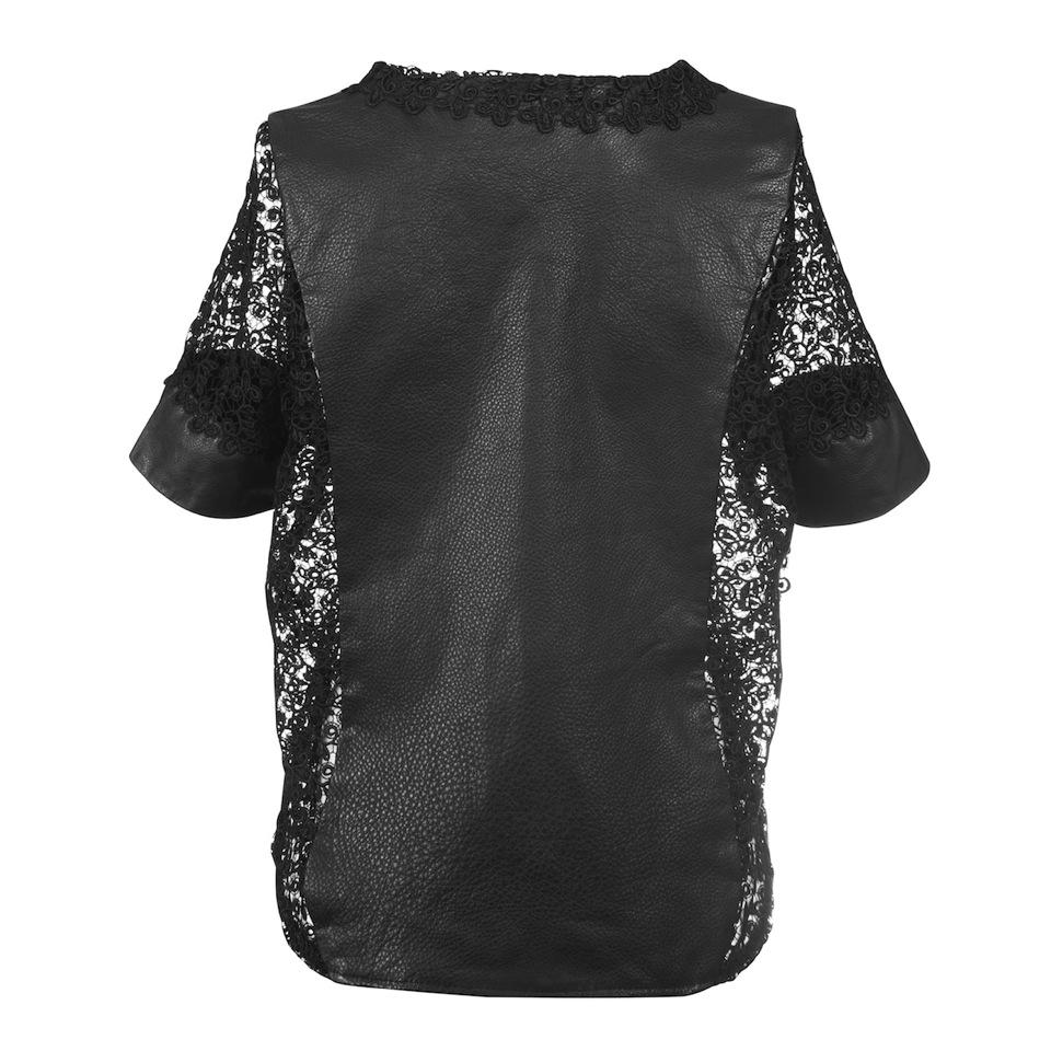Deepmello_Leather_Lace_Shirt