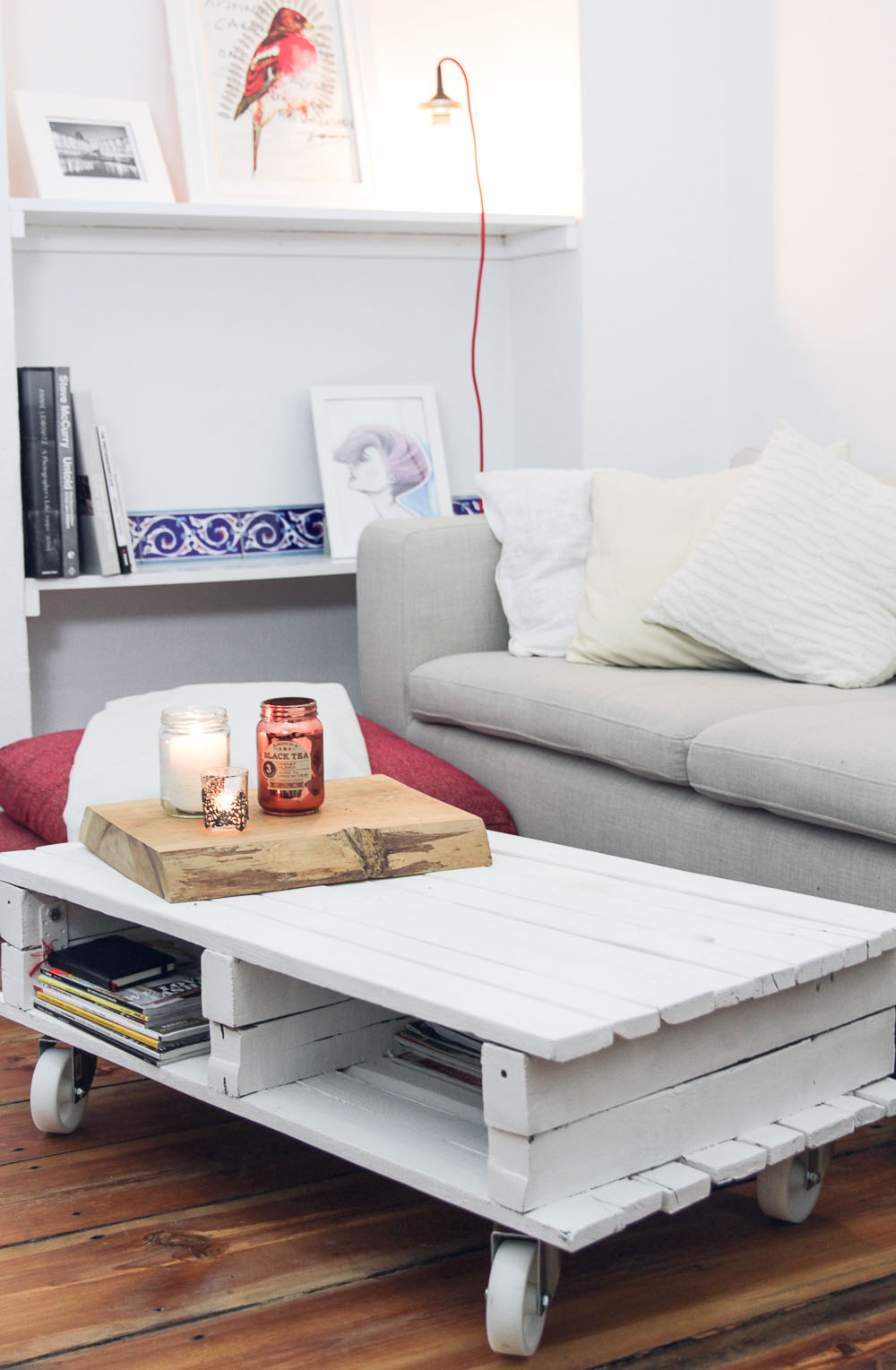 DIY pallet table
