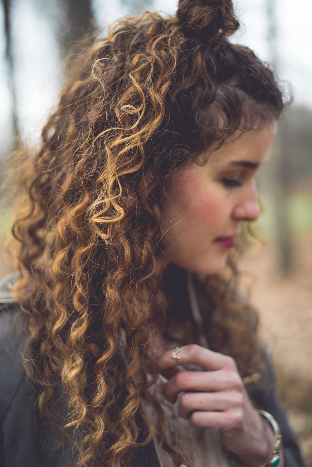 Naturally Wavy Curly Hair Tips
