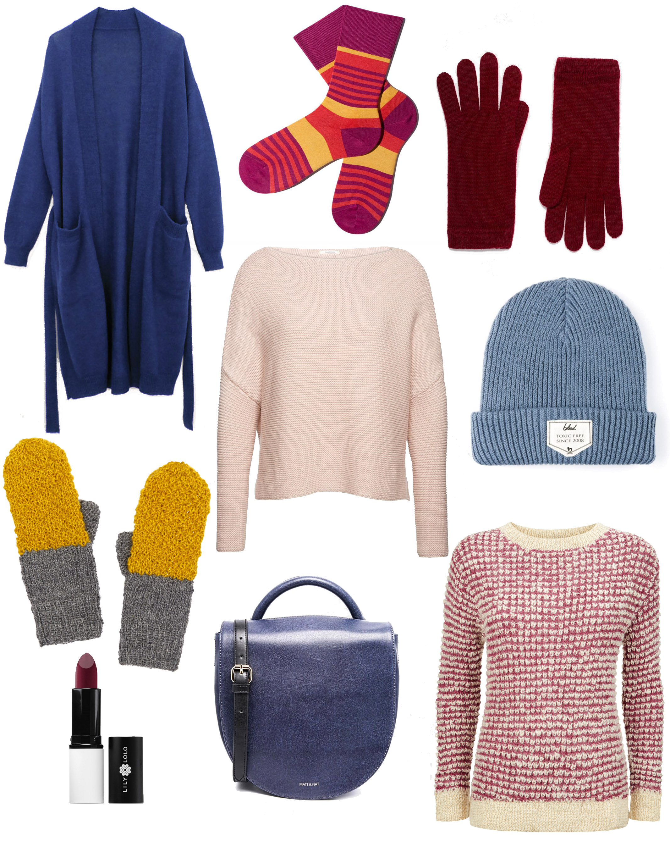 colorful winter style