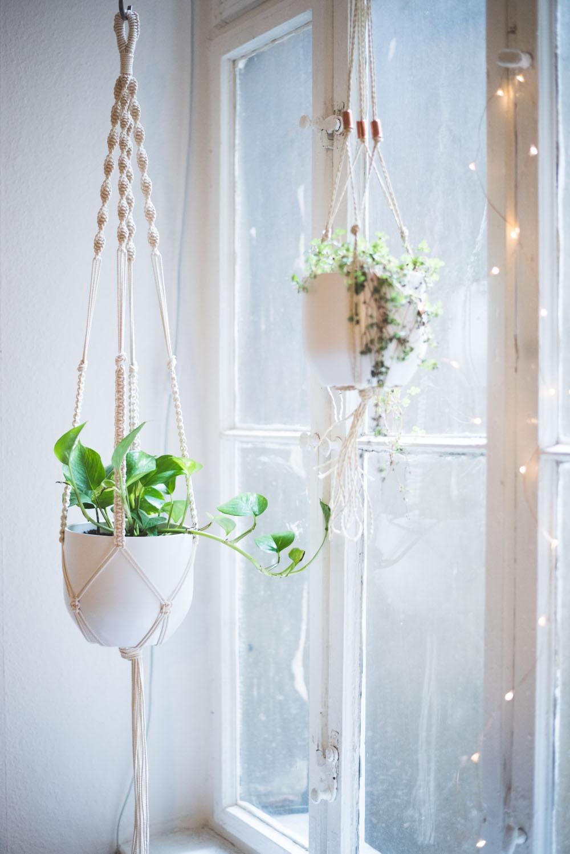 Macrame Plant Hanger Tutorial Easy Home DIY Macrame