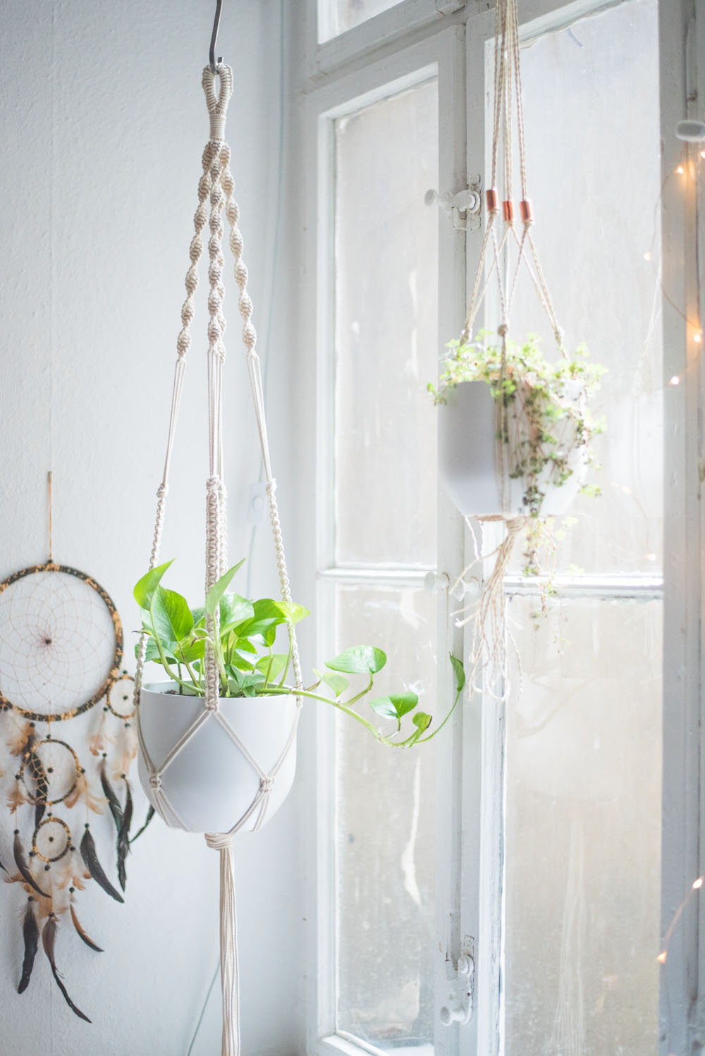 photo regarding Free Printable Macrame Plant Hanger Patterns named Uncomplicated Residence-Do it yourself: Macrame Plant Hanger Guideline - heylilahey.