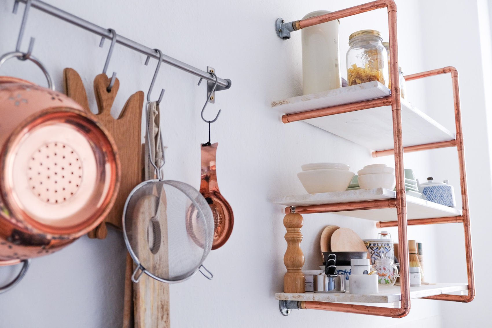 diy copper shelf (1 of 2)