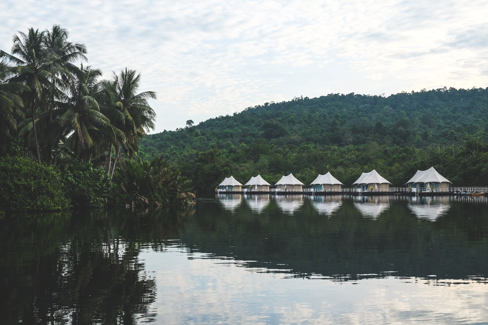 glamping in the cambodian jungle