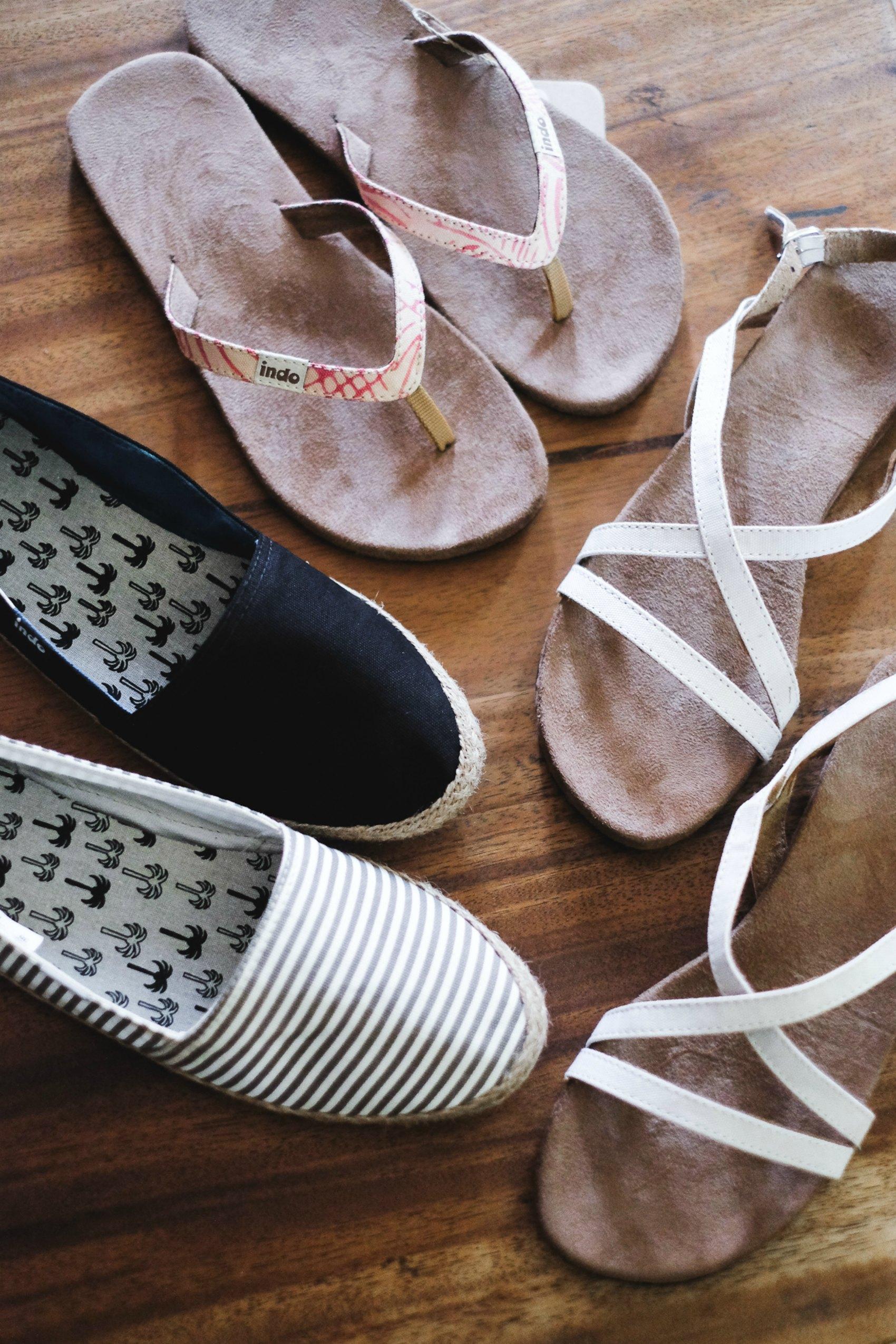 Indosole eco sandals