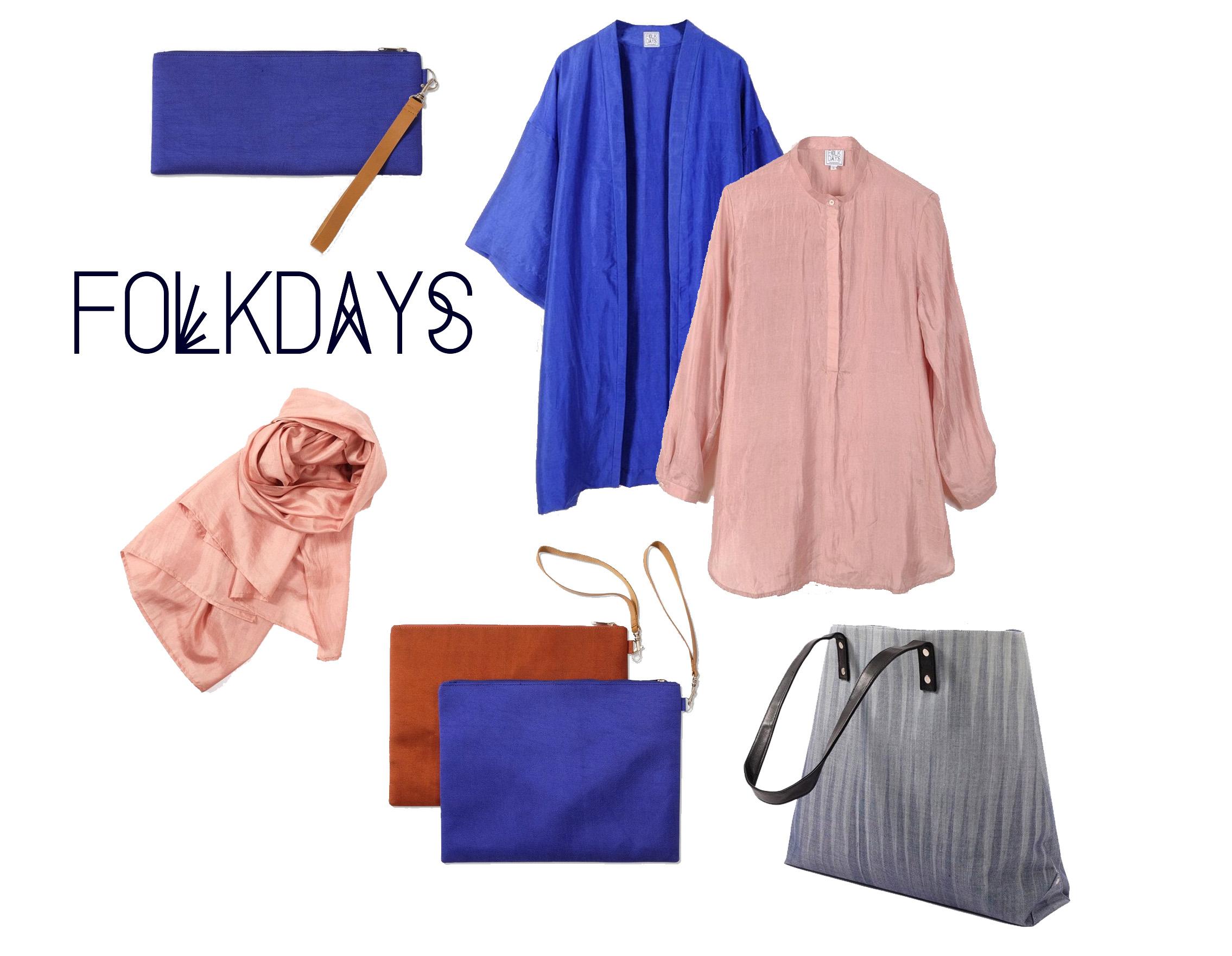 folkdays color silk