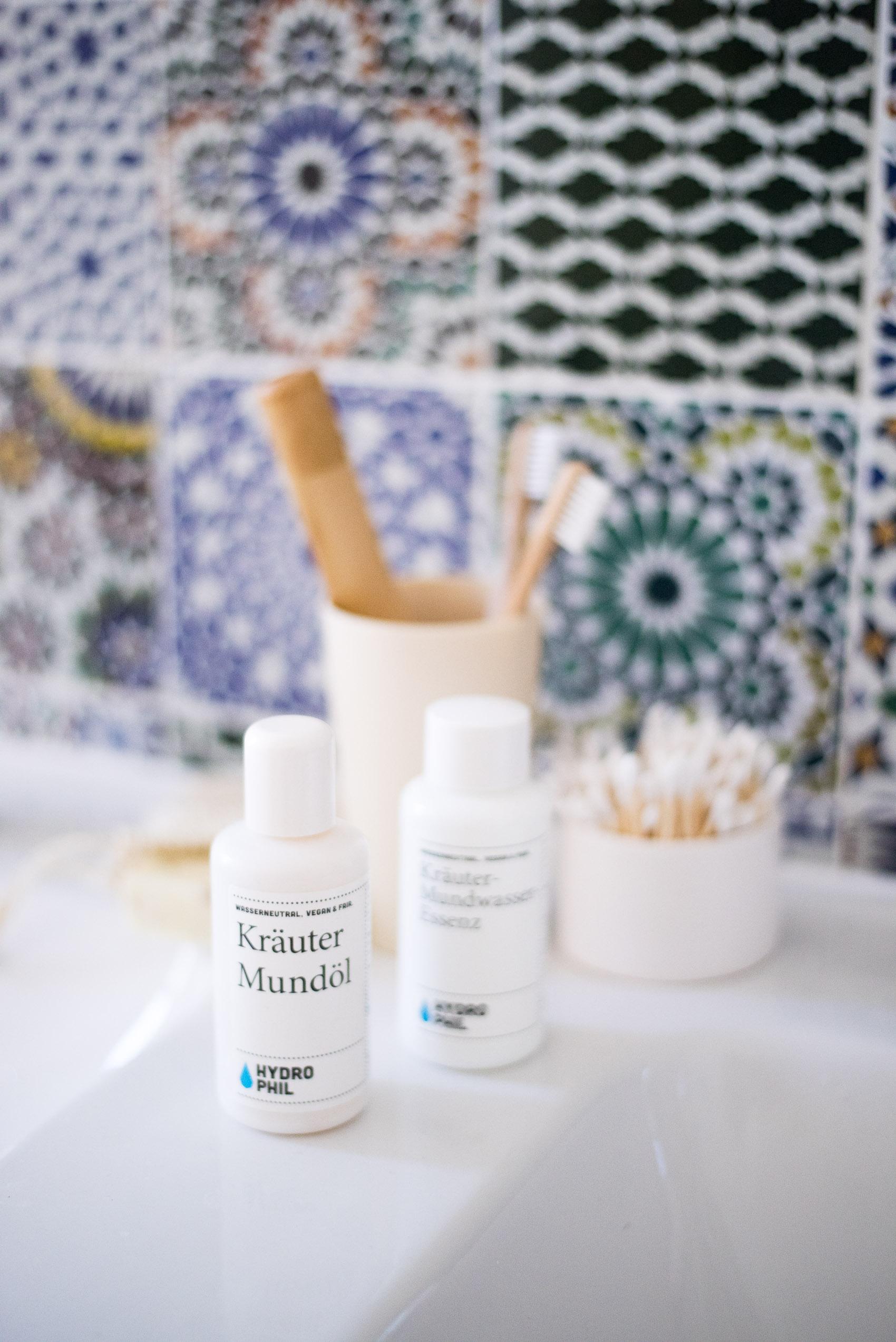 zero waste dental hygiene with hydrophil