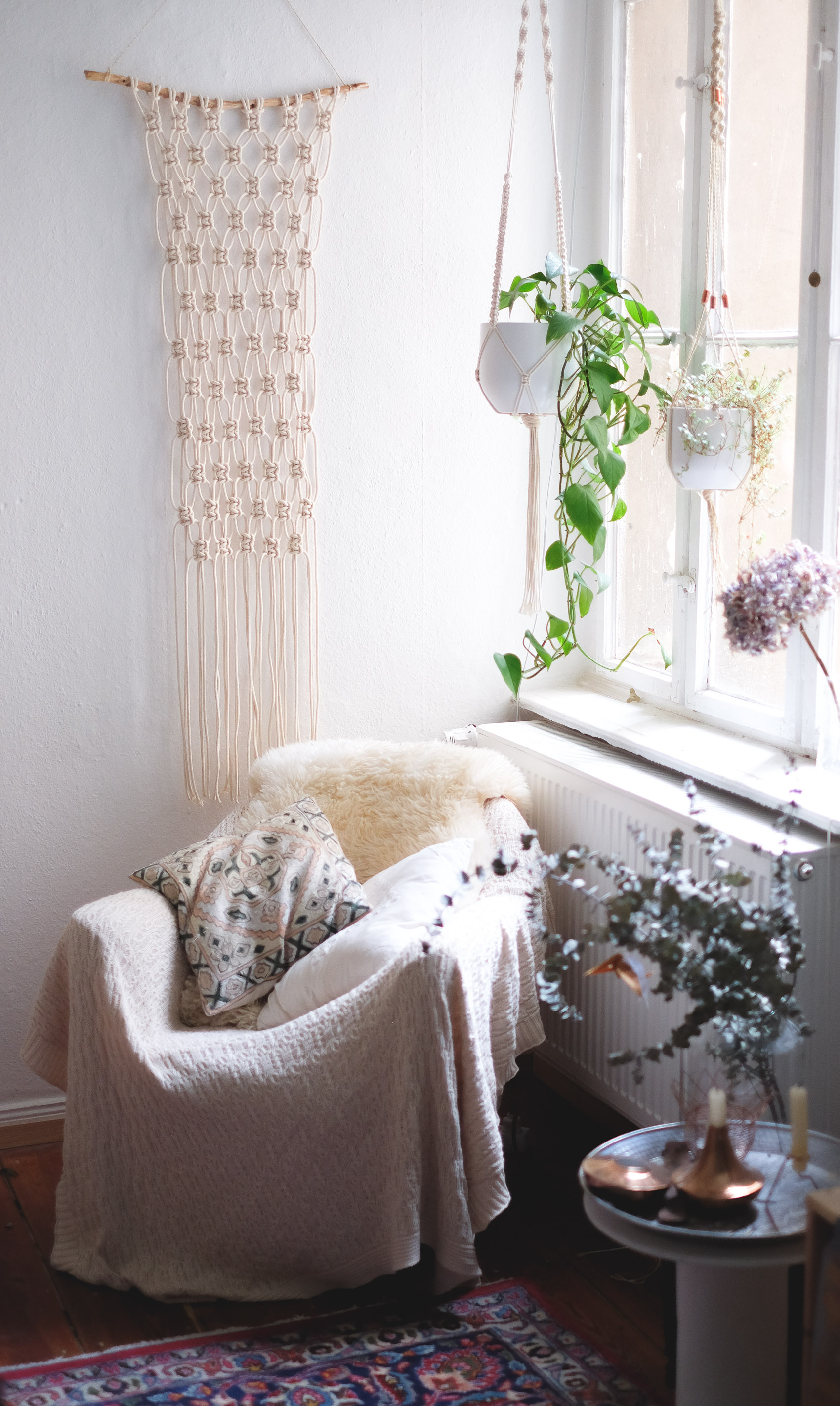Interior Super Easy Diy Macrame Wall Hanging Tutorial