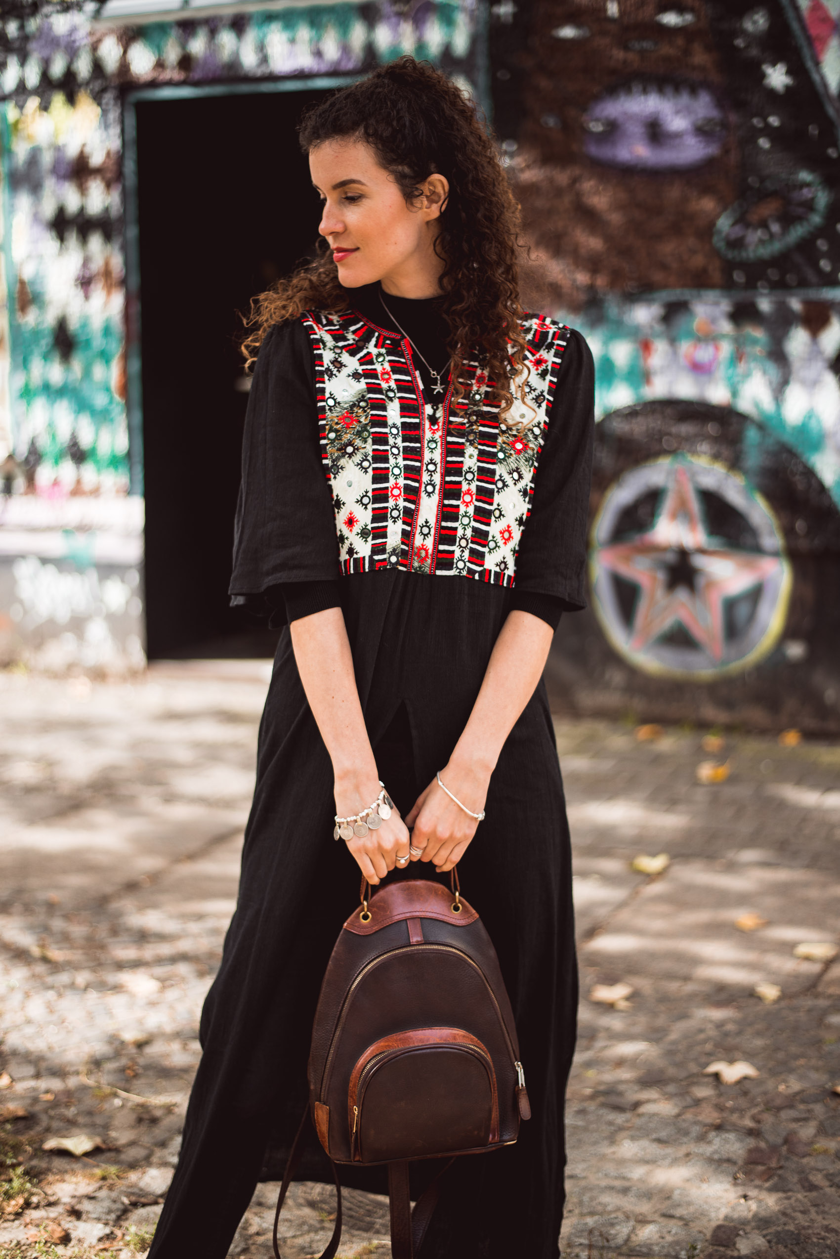 ethical fashion outfit boho style