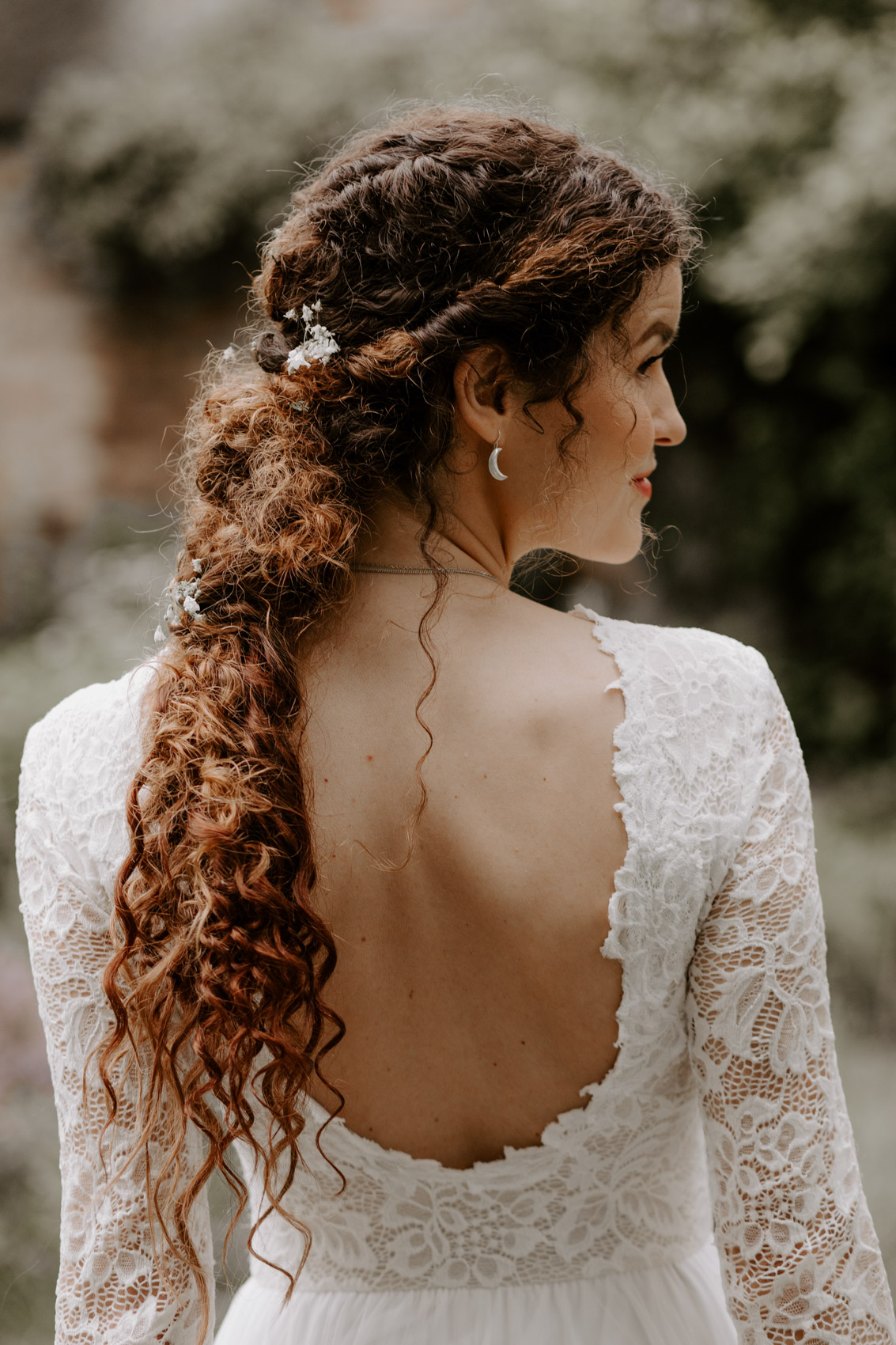 Bridal Hairstyle For Curly Hair Heylilahey